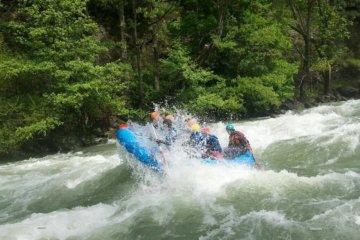 Rafting Noguera Pallaresa river