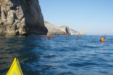 Sea kayaking course