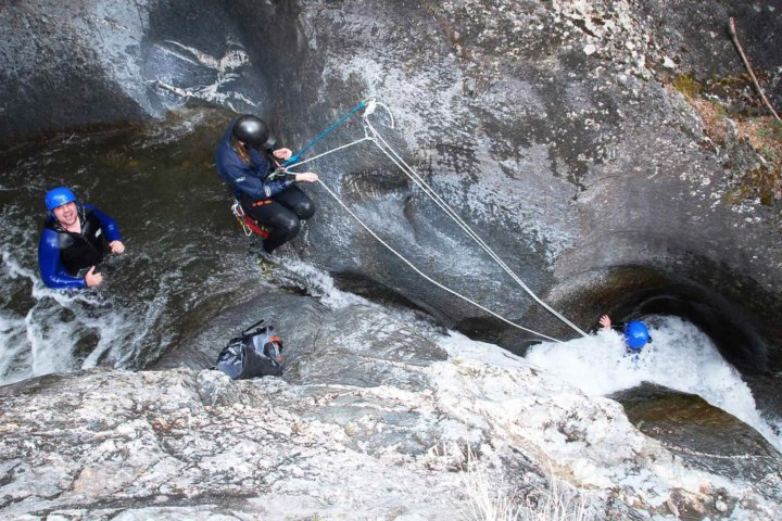 Canyoning in Pyrenees