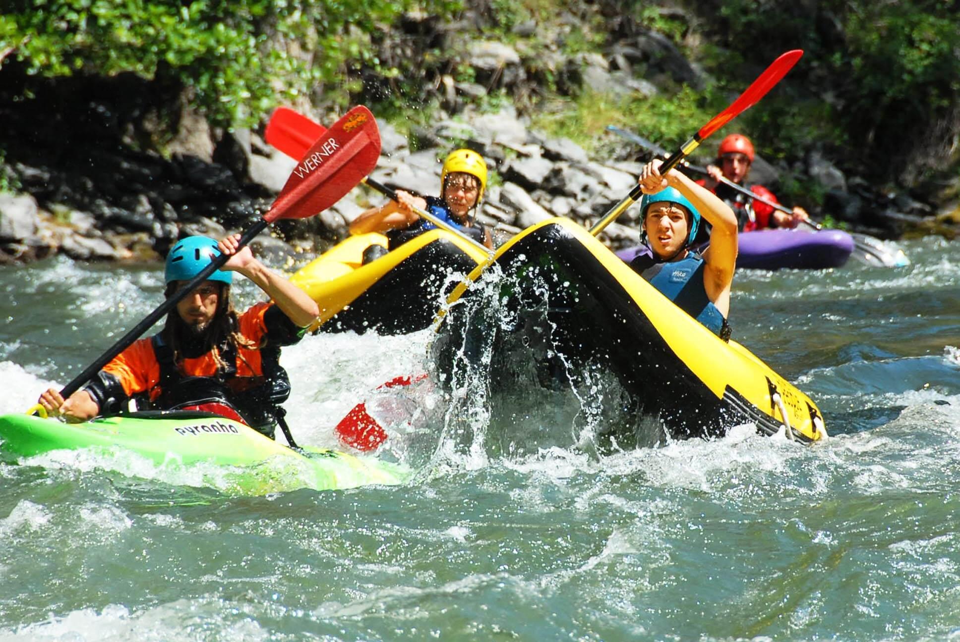 White water Kayak Pyrenees