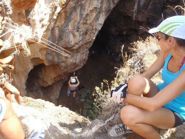 Sea kayak and Caving Murcia