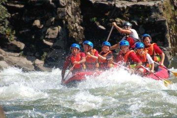 Rafting trip Galicia