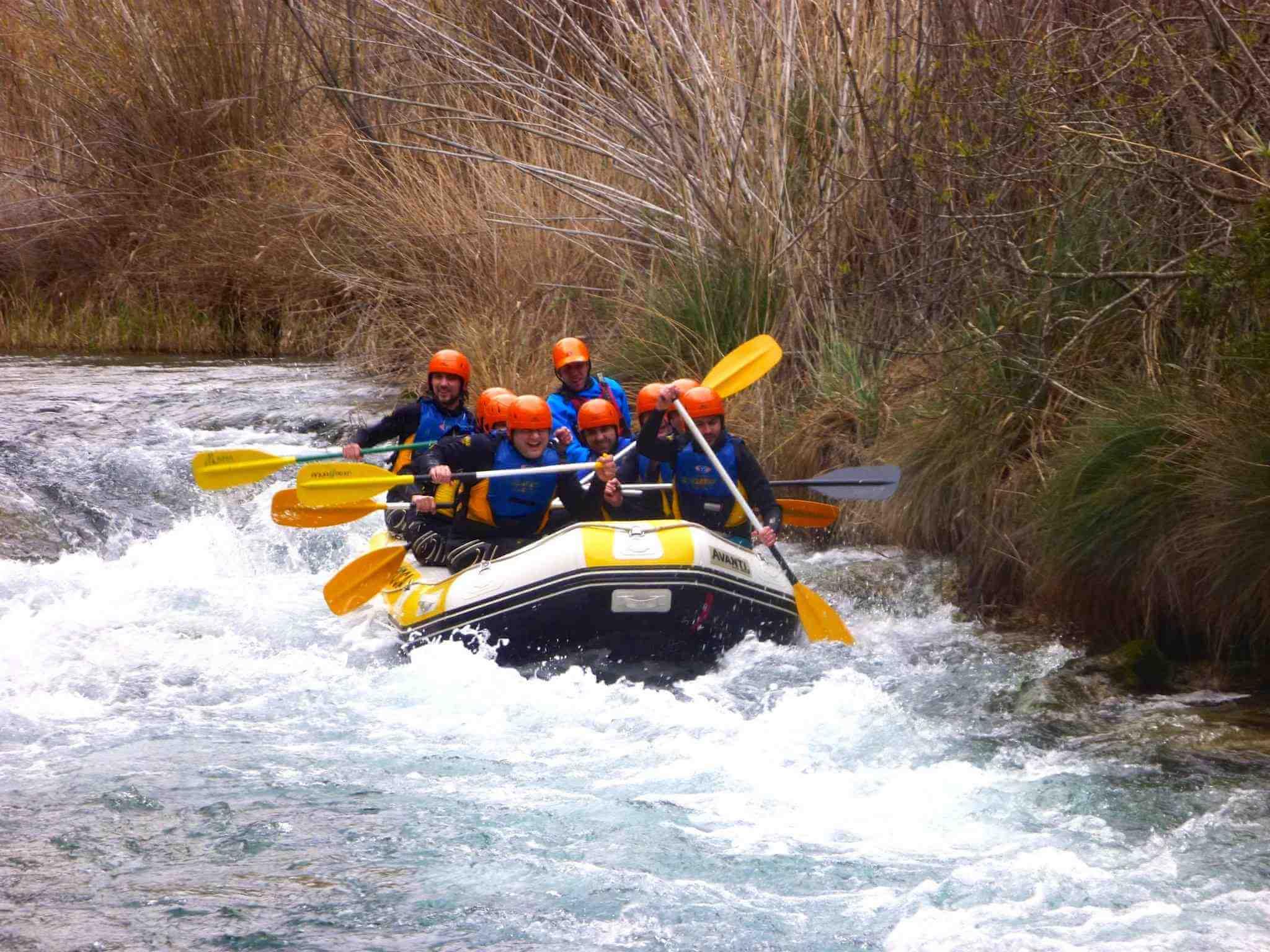 White water Rafting Valencia