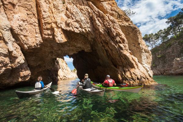 Sea kayak Costa Brava