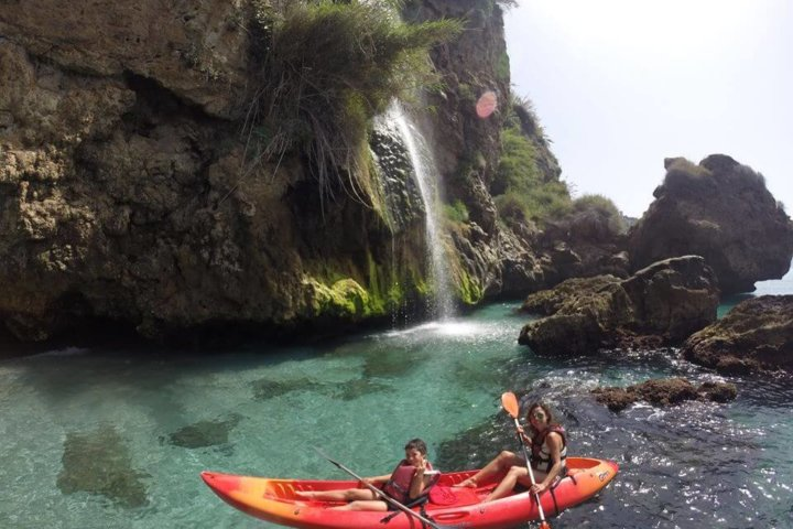 Sea Kayak cliffs of Nerja