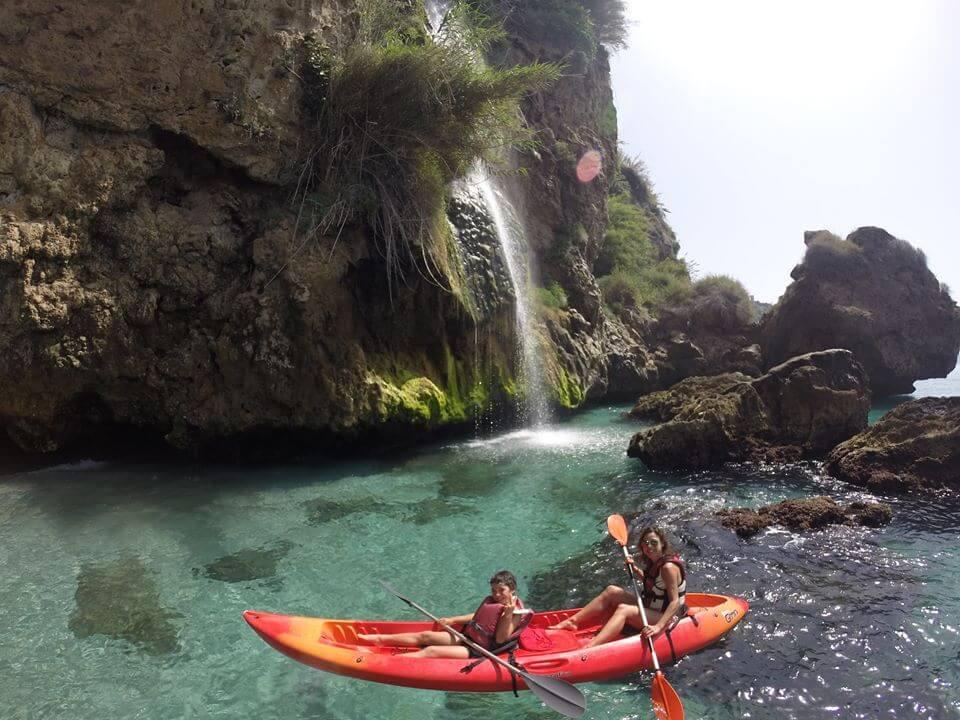 Sea Kayak cliffs of Nerja