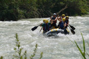 White Water Rafting in Malaga