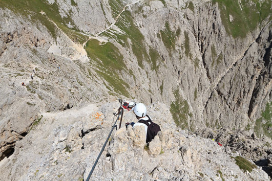 Via Ferrata in Spain
