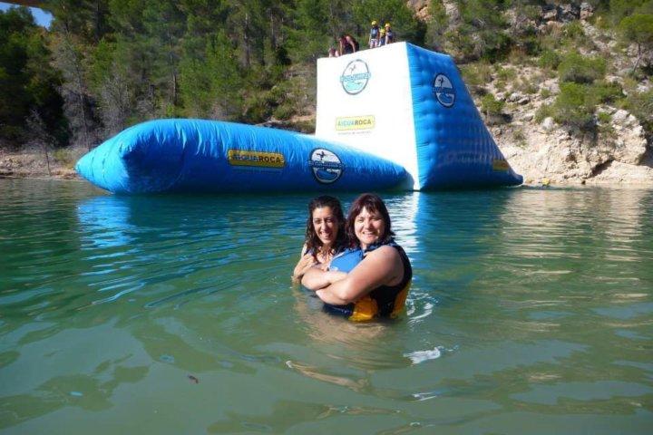 Kayaking and BlobJump Valencia