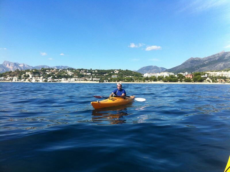 Sea kayak experience in Altea