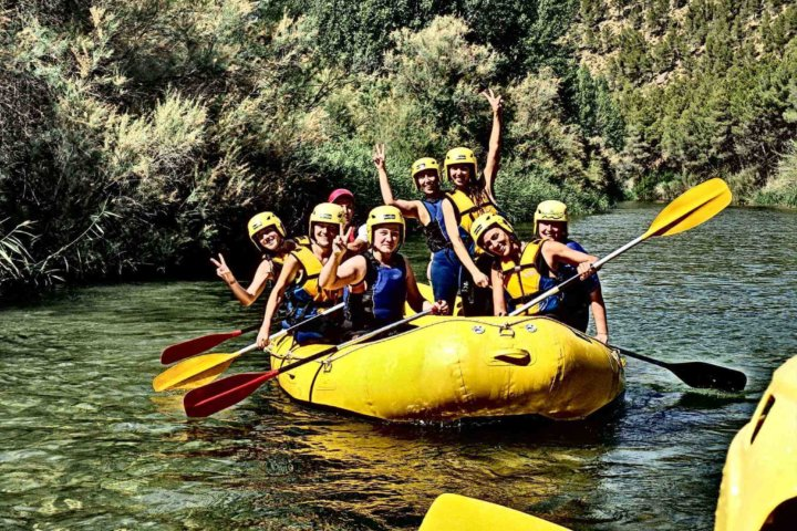 Rafting adventure Valencia