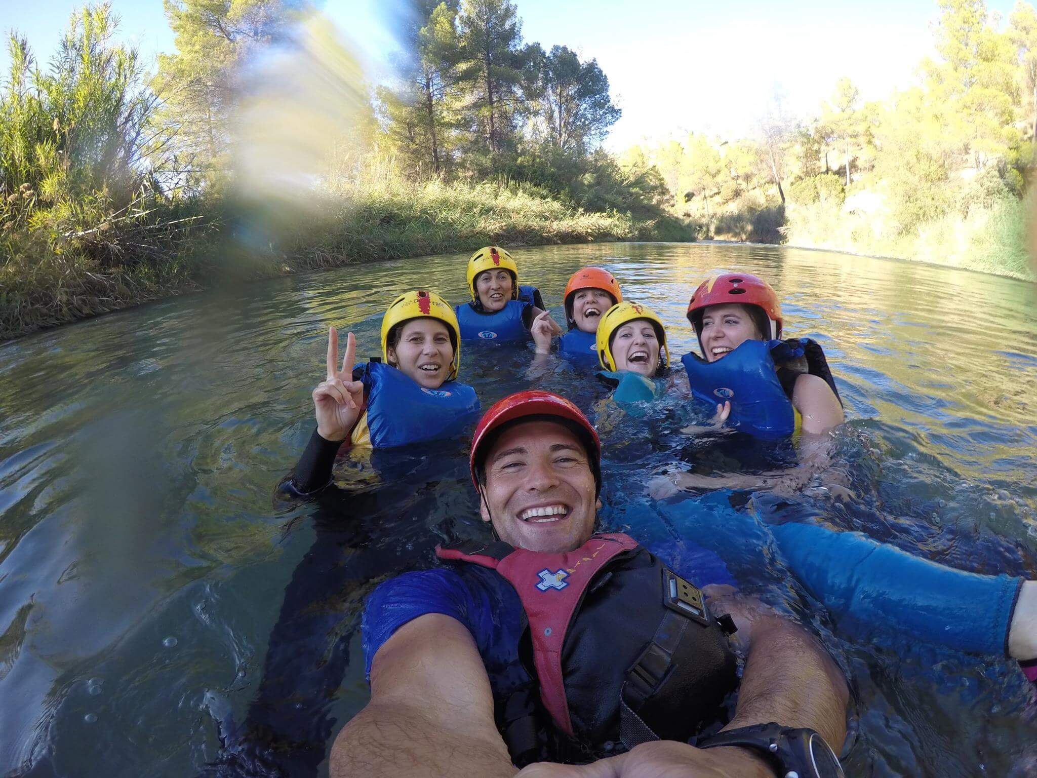 Rafting and Blobjump Valencia