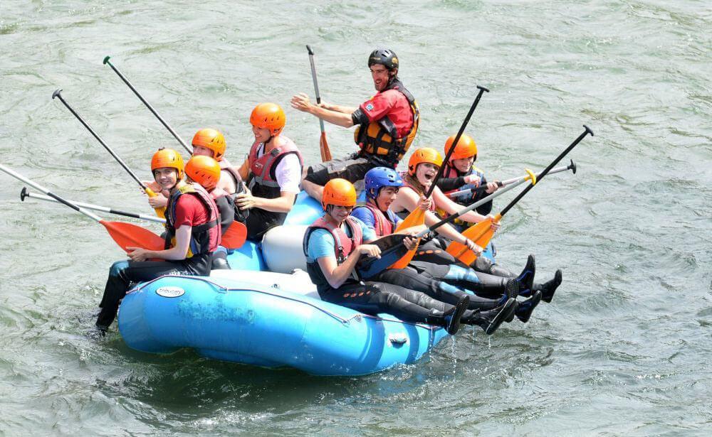 Rafting in Pyrenees