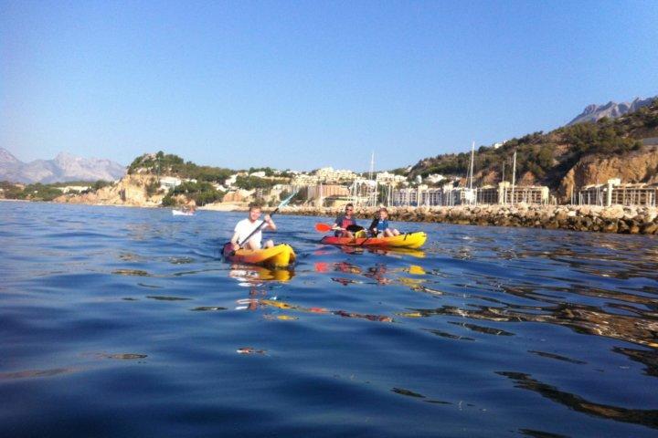 Sea kayak tour in Altea