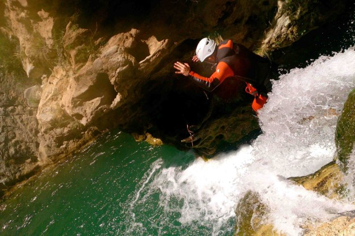 Canyoning in Andalucia