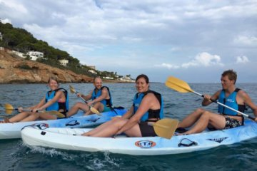 Sea kayak and caving in Denia