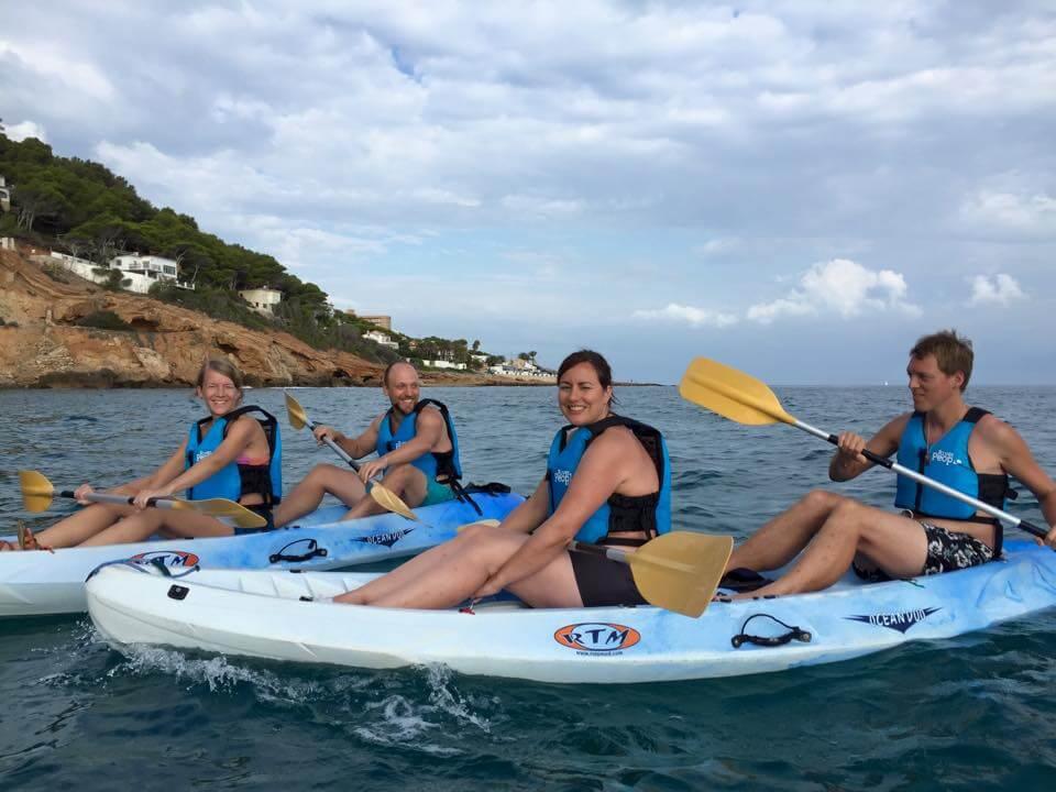Sea kayak and caving in Denia