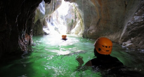 Canyoning activity Marvella